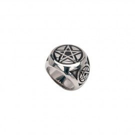 PENTAGRAM MAN RING