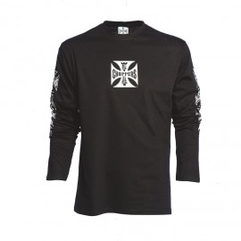 T-SHIRT ORIGINAL CROSS LONG SLEEVE BLK
