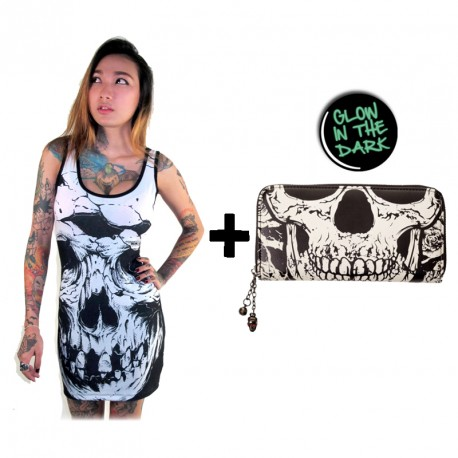 SKULL PASSION LADY CHRISTMAS PACK